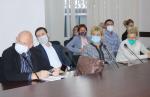 Pаботно заседание на Областния медицински съвет